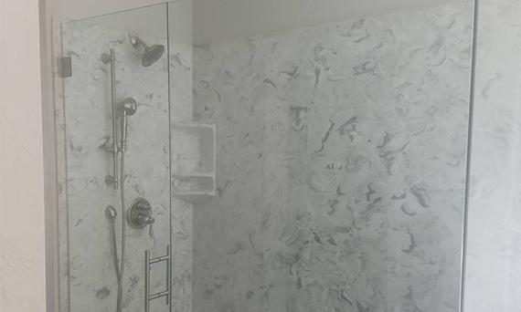 Glass Installation for Custom Shower Door in Sparta IL