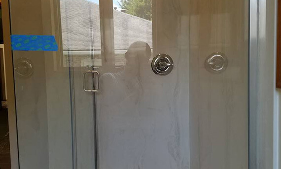Custom Glass Shower Doors and Enclosures in Waterloo IL